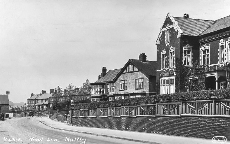 Blyth Road Maltby Rotherham South Yorkshire 1935