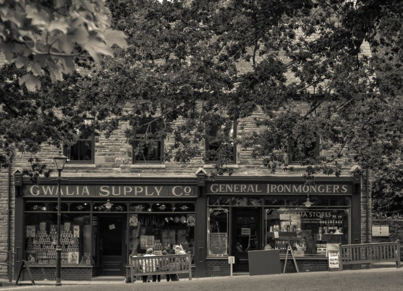 Gwalia Supply Co & General Ironmongers   St. Fagans National History Museum of Wales, Cardiff