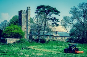 The Church of St Stephen & St Tathan, Caerwent, Monmouthshire, south Wales