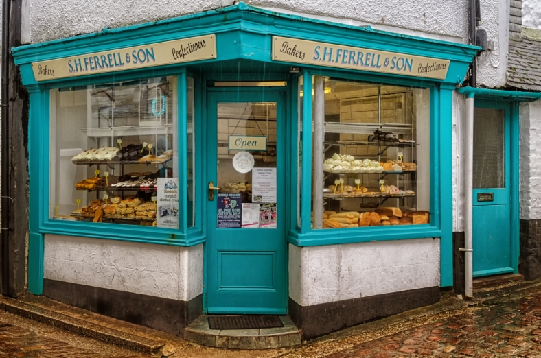 S H Ferrell & Son, Bakers and Confectioners, St Ives, Cornwall
