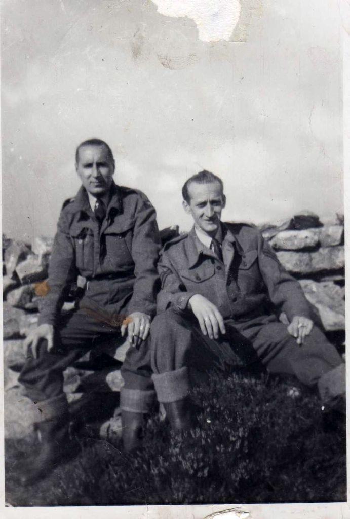 Original black and white photograph for restoration