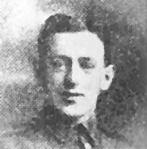 Private Albert Williams, Blackwwod, Died of wounds received in the First World War